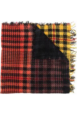Faliero Sarti Women Scarves - Colour-block plaid scarf