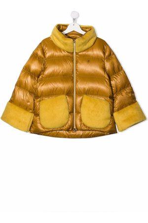 HERNO Girls Hoodies - TEEN padded zip-up down coat