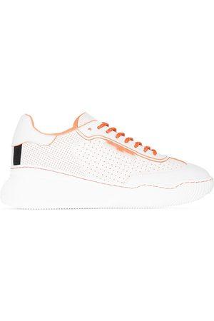 Stella McCartney Women Sneakers - STELLA LOOP PERF FX LTHR LT LCUP SNKR