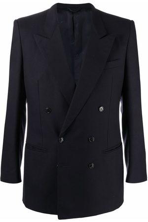 Pierre Cardin 1990s peak lapels double-breasted blazer