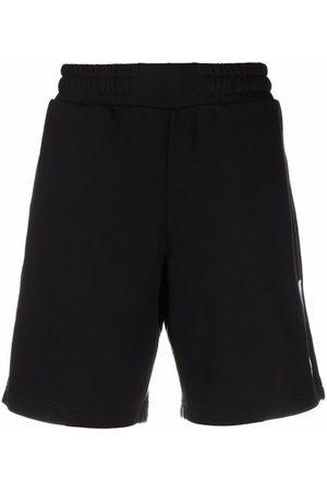 McQ Men Sports Shorts - Geometric track shorts