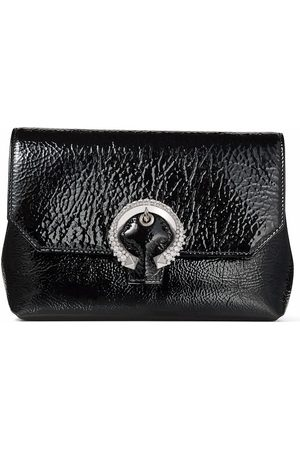 Jimmy Choo Women Clutches - Soft Madeleine crystal-buckle bag