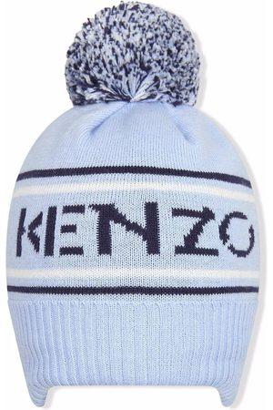 Kenzo Pom-pom logo hoodie