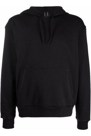 Hogan Side logo drawstring hoodie