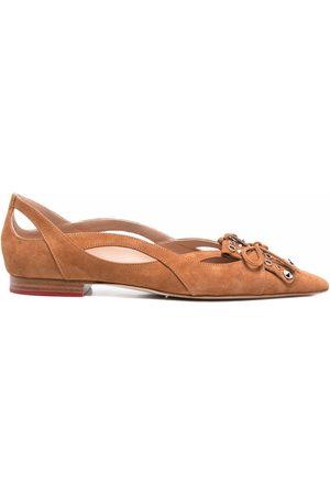 Scarosso Women Ballerinas - X Paula Cademartori Sunflower ballerina shoes