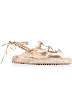 Scarosso Women Sandals - X Paula Cademartori leather sandals