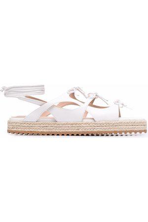 Scarosso X Paula Cademartori Breeze leather sandals