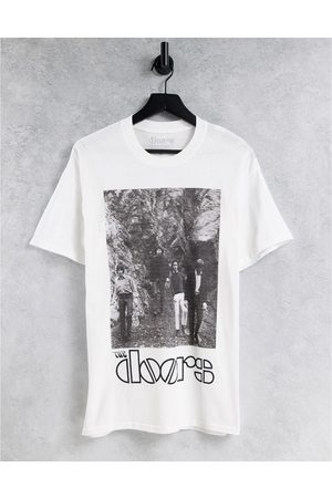 New Look Oversized t-shirt with Doors print in