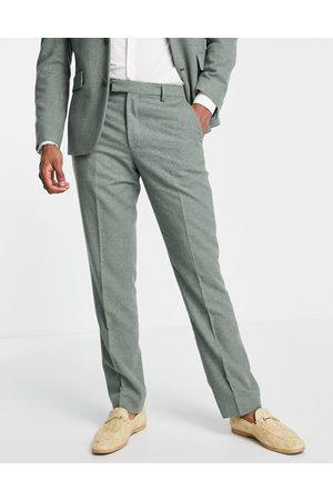 Harry Brown Wedding wool blend slim fit tweed suit trouser