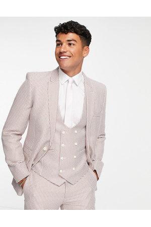 ASOS Men Blazers - Super skinny suit jacket in dogtooth