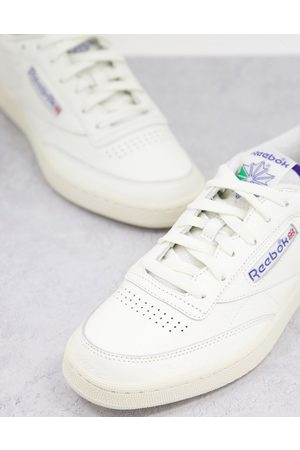Reebok Men Sneakers - Classics Club C trainers with towelling details in chalk
