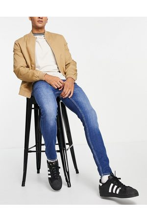 New Look Men Skinny - Super skinny jeans in washed mid