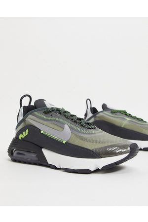 Nike Men Sneakers - Air Max 2090 trainers in and green