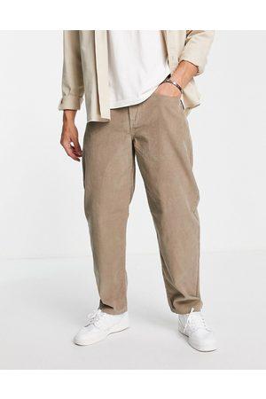 New Look Loose cord trousers in tan