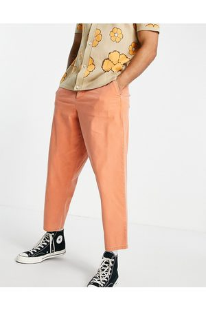 ASOS Balloon fit chinos in bright