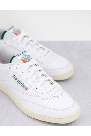 Reebok Classics Club C trainers with towelling details in