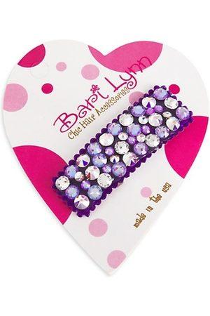 Bari Lynn Girls Hair Accessories - Girl's Rhinestone Embellished Barett