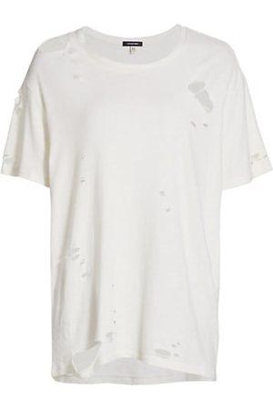 R13 Destroyed Boy Crewneck T-Shirt
