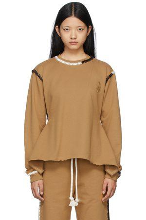 Women Sweatshirts - JW Anderson Contrast Stitch Sweatshirt