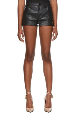 Women Shorts - TOM FORD Lacquered Denim Shorts