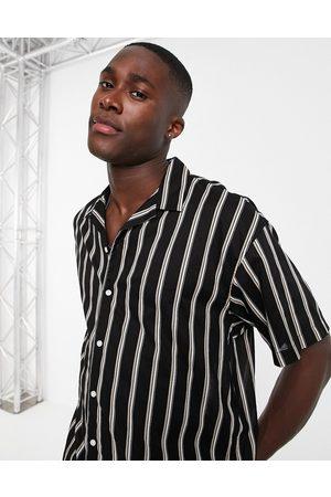JACK & JONES Originals vertical stripe shirt in
