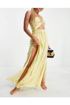 ASOS Women Maxi Dresses - Cut out maxi beach dress in