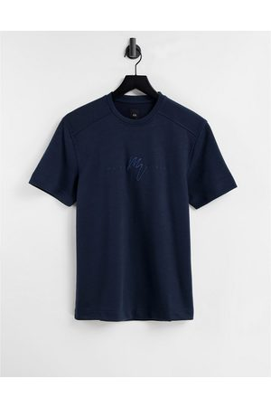 River Island T-shirt in navy