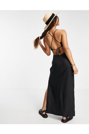 & OTHER STORIES Women Casual Dresses - Cross back maxi dress in