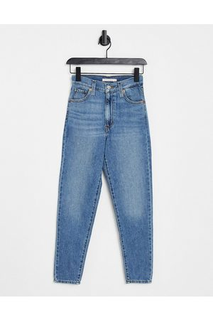 Levi's Women Boyfriend - Levi's high waisted mom jeans in mid wash