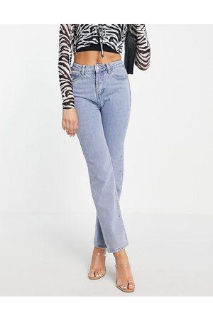In The Style Women Straight - X Yasmin Chanel straight leg jean in