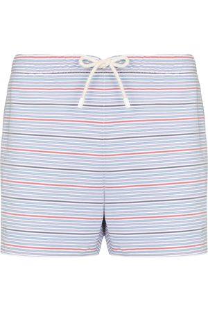 Vilebrequin Men Swim Shorts - Maurice striped swim shorts