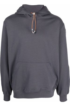 McQ Men Sweatshirts - Logo drawstring hoodie