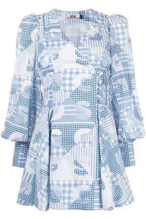GCDS Women Summer Dresses - Patchwork summer dress