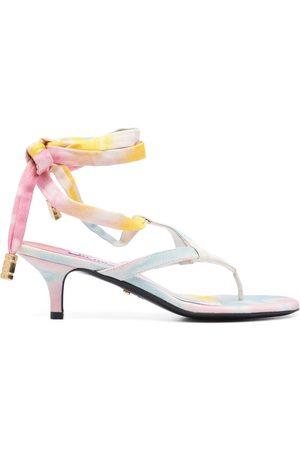 GCDS Women Sandals - 70mm tie-dye thong sandals