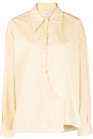 LEMAIRE Wrap-front long-sleeve shirt