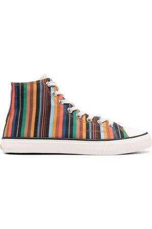 Paul Smith Striped high-top sneakers
