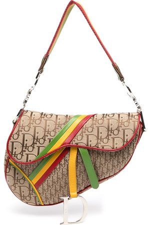 Dior Women Shoulder Bags - Pre-owned Rasta Trotter Saddle shoulder bag