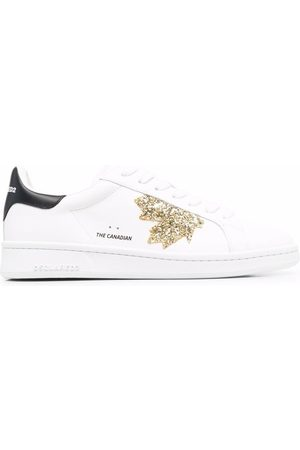 Dsquared2 Glittered low-top sneakers