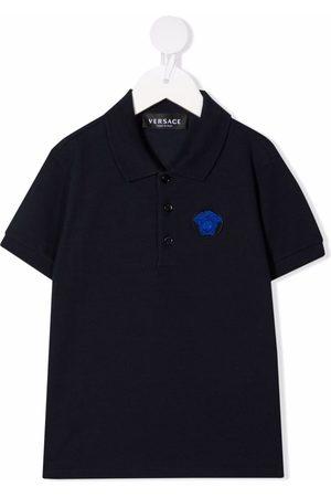VERSACE Baby Short Sleeve - Medusa-detail polo shirt