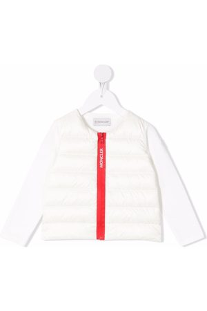 Moncler Zip-up padded down jacket