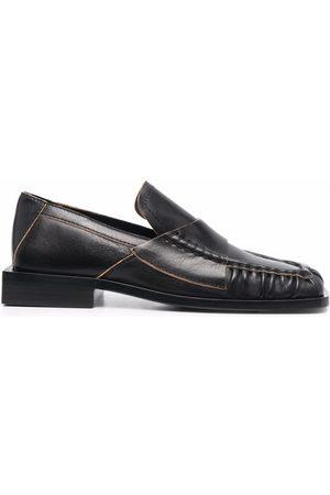 Acne Studios Women Loafers - Square-toe block-heel loafers