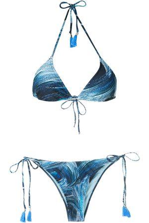 Lygia & Nanny Maya print bikini set