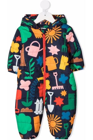 Stella McCartney Graphic-print recycled polyester romper
