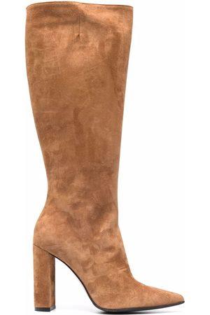 LE SILLA Women Knee High Boots - Megan block heel knee boots