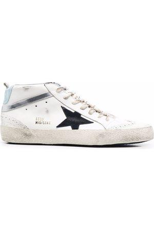 Golden Goose Men Sneakers - Midstar distressed sneakers