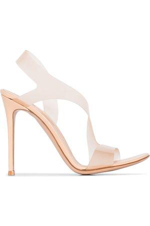 Gianvito Rossi Women Sandals - GIANVITO METROPOLIS 105 HH SNDL RTOE SLN