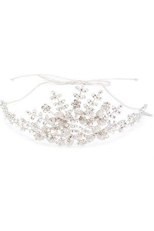 Jennifer Behr Zonya crystal-embellished tiara