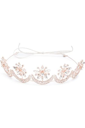 Jennifer Behr Neveah crystal-embellished crown