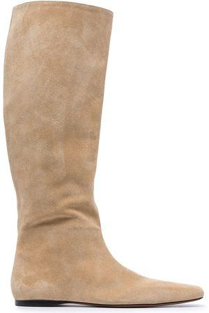 Proenza Schouler Women Knee High Boots - Quad knee-high slouch boots