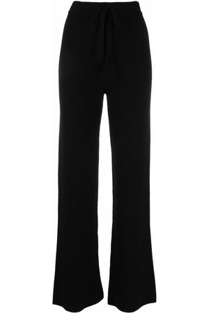 FEDERICA TOSI Recycled cashmere-blend drawstring-waist trousers